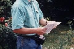 Der erste Auftritt als Dirigent 1985