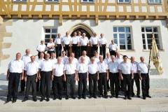 Der Männerchor des MGV Neuhausen