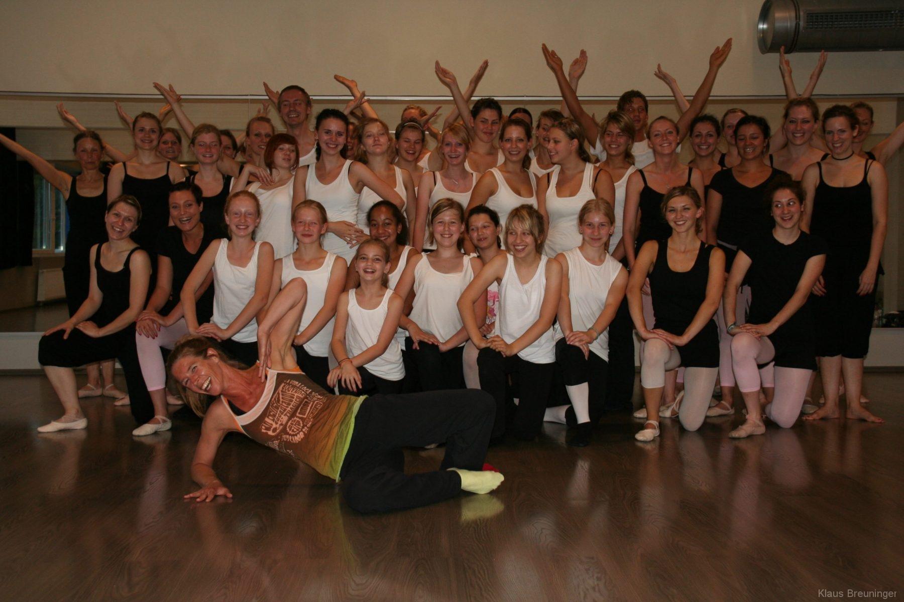 Die Tänzer*innen der New York City Dance School