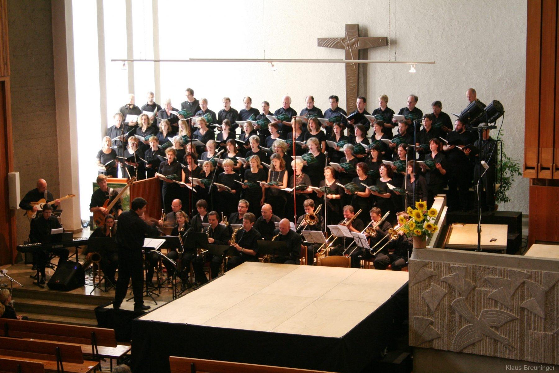 Solitude-Chor, High 'n' Mighty Bigband (Ltg. Frank Knoll)