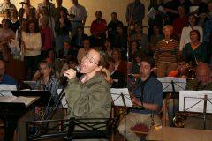 Ellington, Sacred Concert 2007, Generalprobe mit Annette Kienzle