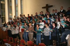 Ellington, Sacred Concert 2007, Generalprobe