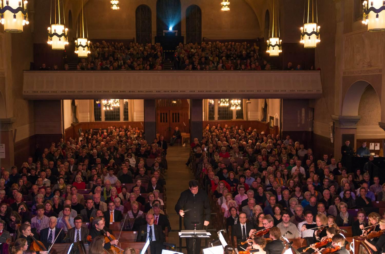 Solitude-Chor - Blick ins Publikum